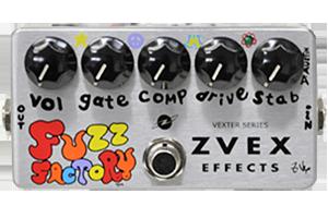 Zvex fuzz factory(ファズファクトリー)